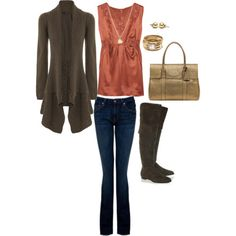 cute outfit i made for Fall! :)