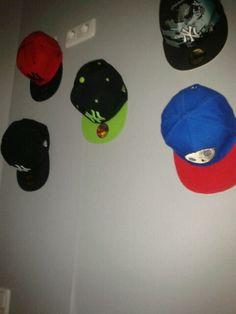 Diy Wall of caps!