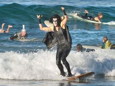 Costumed surfers will be riding waves in style at wacky Halloween events