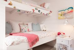 A perfect bedroom for a little girl.