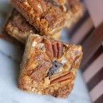 Dream Bars - An Old Family Favorite. 3 kinds of chocolate, pecans, coconut, graham crackers, pecans. YUM! | @Susan Salzman