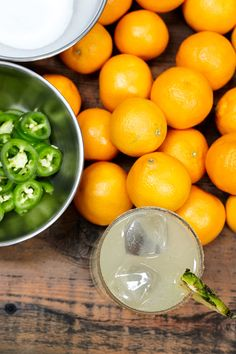 322c4bfb24c Bring a little heat to an iconic classic by adding jalapeno and cilantro to  your drink with this Spicy Margarita recipe.
