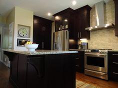 java cabinets - small kitchen