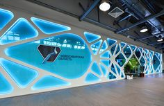 NOVOSIBIRSK - 75 YEARS EXHIBITION SPACE by Overtonic Design, via Behance