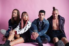 They're on tour with Selena Gomez and have a full-length debut album on the way: pop-funk four-piece DNCE is keeping the party going all summer long.