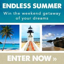 Pack your bags and get away to your favorite beach! Prize includes round trip airfare for two, three nights at your choice beach destination, and $500 to wine and dine. Enter now: tastingtable.com/beach2014