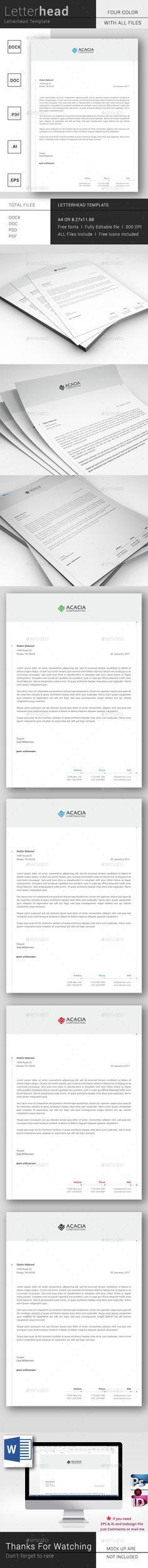 simple and clean letterhead template letterhead template stationery printing and print templates