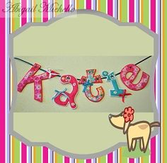 Banner Fun Alphabet - 3 Sizes! | Featured Products | Machine Embroidery Designs | SWAKembroidery.com