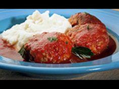 Sausage Meatballs with Tomato Sauce - Chef Nick Stellino - YouTube