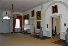 Hampton Mansion, Grand Hall, Towson, MD, 1783-90.