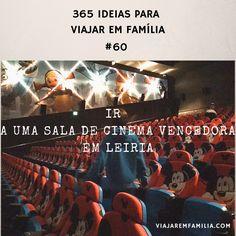 Ir a uma sala de cinema vencedora em Leiria