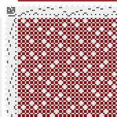 draft image: Figure 228, A Handbook of Weaves by G. H. Oelsner, 7S, 7T