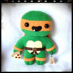Ninja Turtle Doll