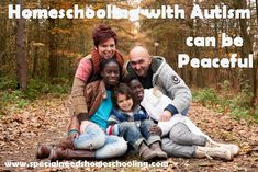 Homeschooling with Autism can be Peaceful | Special Needs Homeschooling