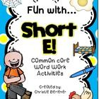 Teaching short vowels??? This super fun pack includes a full-color short e anchor chart and 8 ready-to-go printable activities, including an emerge...