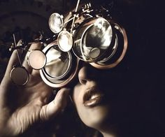 When traditional spectacles just won't suffice, take a cue from Ichabod Crane with the steampunk Sleepy Hollow goggles. This distinguished pair of goggles comes equipped with more lenses than you'll know what do to with, and are excellent for cosplaying.