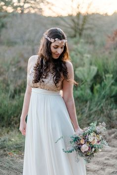 Schillernde Elopement-Inspiration auf der Heide DANIELA MARQUARDT NICOLE OTTO  http://www.hochzeitswahn.de/inspirationsideen/schillernde-elopement-inspiration-in-der-wahner-heide/ #wedding #inspiration #bride