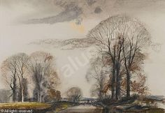 View Lane in winter by Rowland Hilder on artnet. Browse upcoming and past auction lots by Rowland Hilder. Watercolor Sketch, Watercolor Landscape, Watercolor Paintings, Little England, Oil Painters, Black And White Drawing, Global Art, Winter Landscape, Tree Art