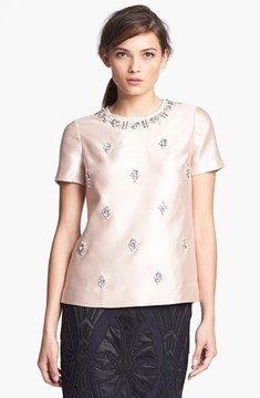 Tory Burch 'Vesper' Silk Top on shopstyle.com