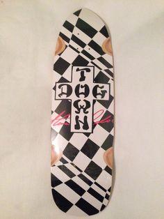 """Dogtown Steve Olson 8.5"""" X 29.25 Skateboard Deck"""