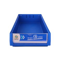 [Plastic Bins]Industrial Plastic Storage Tote Bins with Dividers for Tools Hardware, Production Capacity:1000PCS/Day, Capacity:<10L,Material: PP, Warehouse, Garage, Stockroom, Storage,Type: Warehouse, Garage, Stockroom, Storage,Color: Dark Blue and Light Blue,N.W: 0.678kg,Qty/CTN: 12,, Plastic Shelf Bin, Storage Bin Wholesale, Plastic Spare Parts Bins, Model NO.: PK5209, MOQ: 100, Delivery Time: 15 Days After Getting The Payment, Logo: Customized Logo Could Be Accepted, Accessories: Riser Rod Plastic Storage Totes, Bin Storage, Plastic Shelves, Plastic Bins, Shelf Bins, Dark Blue, Light Blue, Tools Hardware
