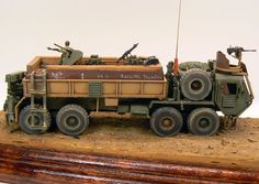 Ludek Machaceks Oshkosh M997 Guntruck.
