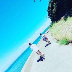 【gumimatsu0914】さんのInstagramをピンしています。 《佐久島🏝島をぐるっとサイクリング中🚴♀️の写真 すごく気持ちよかった!つかれたけどね笑 #佐久島#サイクリング#島#海#空#チャリ#自転車#旅#気持ちいい#island#cycling #sea#sky#bike#travel#写真好きな人と繋がりたい #旅好きな人と繋がりたい #空好きな人と繋がりたい》