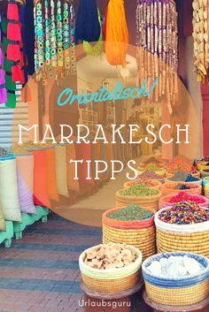 Bunt, quirlig und einfach wunderschön! Marrakesch ist die wohl farbenfrohste Stadt Marokkos. Lasst euch von Märkten, orientalischen Speisen und freundlichen Menschen verzaubern. Mit meinen Marrakesch Tipps werdet ihr richtige Insider und verpasst bei eurer nächsten Reise keinen Hotspot der liebevollen Stadt. #marrakesch #marokko #medina #urlaub