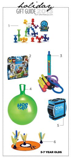 All for the Boys - 2013 Holiday Gift Guide: 5-7 Year Olds