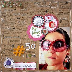 50 things Iove