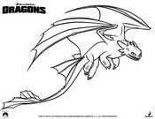 Coloring Pages How to train your dragon Drawing