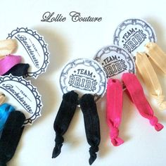 Bachelorette Party Favors Accessories Maid of by lolliecouture