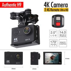 49.99$  Watch here - http://alixa6.shopchina.info/go.php?t=32727113559 - ENEK Brand 4K HD Action Camera 1080P 2.0 LTPS with Remote Control Cam RC Quadcopter Spare Parts for syma X8 X8W X8G 49.99$ #buyonline