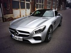 Shooting the all new GTS AMG
