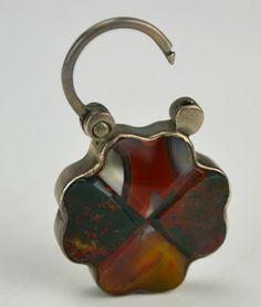 Decorative Arts Antiques C1880 #90 Wide Selection; Antique Agate Match Safe
