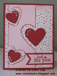Happy Valentines Day, a few days late. OK, I had this blog entry almost ready to post for you, and somehow forget I had not completed it a...