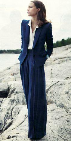 Roberto Cavelli pant suit.  LOVE!