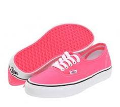 Zapatos rosas de verano Vans Authentic para mujer 8V06N
