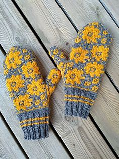 Ravelry: Walk-away pattern by Pinneguri - Schön stricken - Knitting Ideas Knitted Mittens Pattern, Fair Isle Knitting Patterns, Knit Mittens, Knitted Gloves, Knitting Designs, Knitting Projects, Crochet Projects, Crochet Patterns, Knitting Tutorials