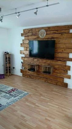 For this post Wohnzimmer Ideen you browse. Wohnzimmer Ideen If you like our article by writing comments and sharing it on social media, we would be happy if you support us. Barn Wood Projects, Pallet Projects, Easy Projects, Diy Holz, Pallet Furniture, Pallet Walls, Wood Pallets, Pallet Wood, Wood Wall