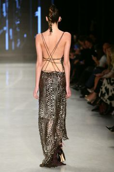 Tuba Ergin of Godd Design Mercedes-Benz Fashion Week Istanbul Presented By American Express Fall/Winter 2014 #MBFWI #FW14