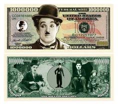 Set of 1000 – Charlie Chaplin Million Dollar Bill