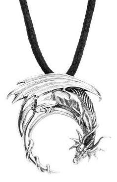Fantasy Dragon Toltecs Amulet