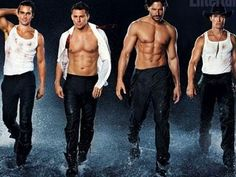I can already tell that Magic Mike is going to be the best movie this year.,