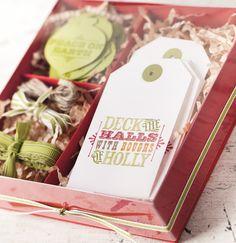 Giftable Christmas tags.