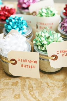 Cinnamon butter plus 24 more neighbor gift ideas