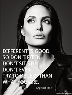 12 Quotes That Prove Angelina Jolie Should RULE The World 12 inspirierende Zitate, die beweisen, dass Angelina Jolie GENIUS ist Great Quotes, Quotes To Live By, Me Quotes, Motivational Quotes, Inspirational Quotes, Beauty Quotes, Super Quotes, The Words, Angelina Jolie Quotes