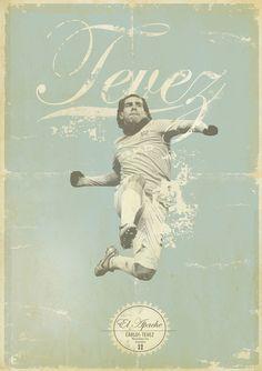 Carlos Tevez by Zoran Lucic