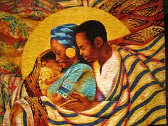 African American Family quilt