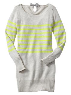 Striped Sweater / Gap {oh bits of neon love}